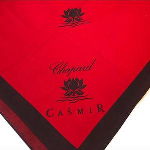 Chopard  casmir display/ table cloth